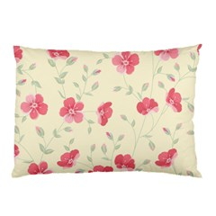 Seamless Flower Pattern Pillow Case (Two Sides)