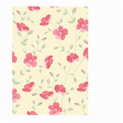 Seamless Flower Pattern Large Garden Flag (Two Sides)