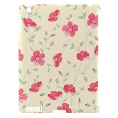 Seamless Flower Pattern Apple iPad 3/4 Hardshell Case (Compatible with Smart Cover)