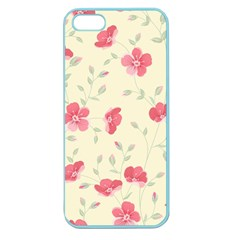Seamless Flower Pattern Apple Seamless iPhone 5 Case (Color)