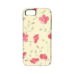 Seamless Flower Pattern Apple iPhone 5 Classic Hardshell Case (PC+Silicone)