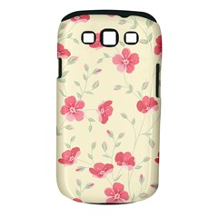 Seamless Flower Pattern Samsung Galaxy S III Classic Hardshell Case (PC+Silicone)