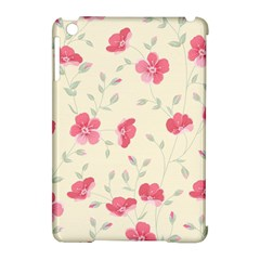 Seamless Flower Pattern Apple iPad Mini Hardshell Case (Compatible with Smart Cover)
