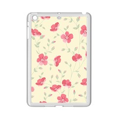 Seamless Flower Pattern iPad Mini 2 Enamel Coated Cases