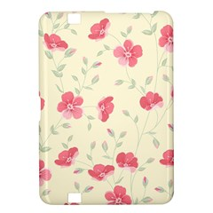 Seamless Flower Pattern Kindle Fire HD 8.9