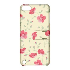 Seamless Flower Pattern Apple iPod Touch 5 Hardshell Case with Stand