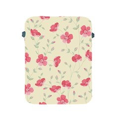 Seamless Flower Pattern Apple iPad 2/3/4 Protective Soft Cases