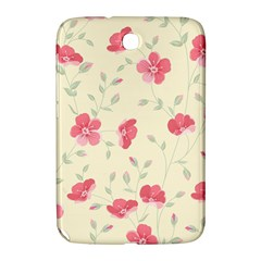 Seamless Flower Pattern Samsung Galaxy Note 8.0 N5100 Hardshell Case