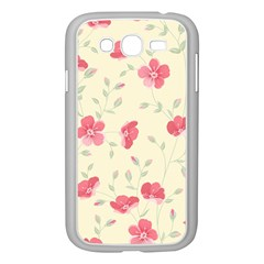 Seamless Flower Pattern Samsung Galaxy Grand DUOS I9082 Case (White)