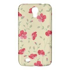 Seamless Flower Pattern Samsung Galaxy Mega 6.3  I9200 Hardshell Case