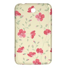 Seamless Flower Pattern Samsung Galaxy Tab 3 (7 ) P3200 Hardshell Case