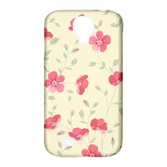 Seamless Flower Pattern Samsung Galaxy S4 Classic Hardshell Case (PC+Silicone)