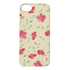 Seamless Flower Pattern Apple iPhone 5S/ SE Hardshell Case