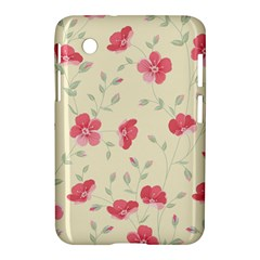 Seamless Flower Pattern Samsung Galaxy Tab 2 (7 ) P3100 Hardshell Case
