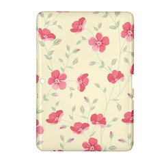 Seamless Flower Pattern Samsung Galaxy Tab 2 (10.1 ) P5100 Hardshell Case