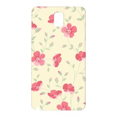 Seamless Flower Pattern Samsung Galaxy Note 3 N9005 Hardshell Back Case