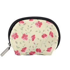 Seamless Flower Pattern Accessory Pouches (Small)