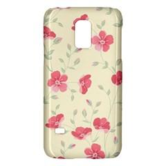 Seamless Flower Pattern Galaxy S5 Mini