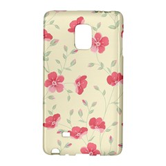 Seamless Flower Pattern Galaxy Note Edge