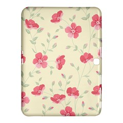 Seamless Flower Pattern Samsung Galaxy Tab 4 (10.1 ) Hardshell Case