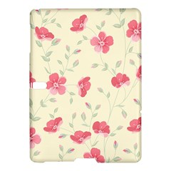 Seamless Flower Pattern Samsung Galaxy Tab S (10.5 ) Hardshell Case