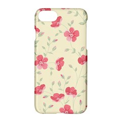 Seamless Flower Pattern Apple iPhone 7 Hardshell Case