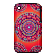 Pretty Floral Geometric Pattern iPhone 3S/3GS