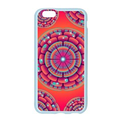 Pretty Floral Geometric Pattern Apple Seamless iPhone 6/6S Case (Color)