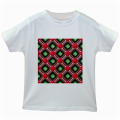 Gem Texture A Completely Seamless Tile Able Background Design Kids White T Shirts