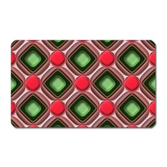 Gem Texture A Completely Seamless Tile Able Background Design Magnet (rectangular)