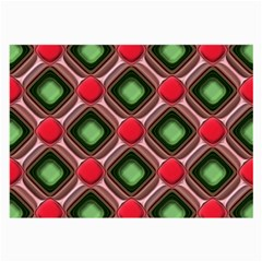 Gem Texture A Completely Seamless Tile Able Background Design Large Glasses Cloth (2-Side)