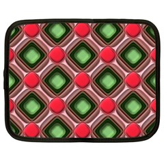 Gem Texture A Completely Seamless Tile Able Background Design Netbook Case (XXL)