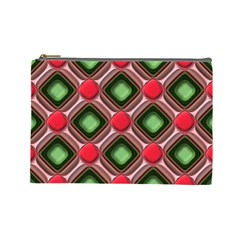 Gem Texture A Completely Seamless Tile Able Background Design Cosmetic Bag (Large)