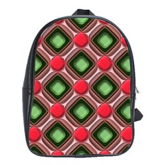 Gem Texture A Completely Seamless Tile Able Background Design School Bags(Large)