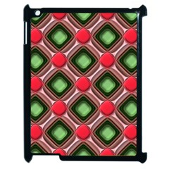 Gem Texture A Completely Seamless Tile Able Background Design Apple iPad 2 Case (Black)