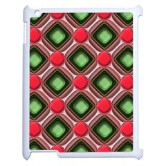 Gem Texture A Completely Seamless Tile Able Background Design Apple iPad 2 Case (White)