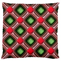 Gem Texture A Completely Seamless Tile Able Background Design Large Cushion Case (Two Sides)