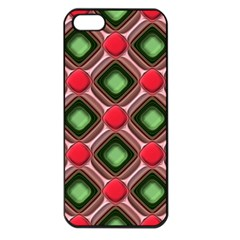 Gem Texture A Completely Seamless Tile Able Background Design Apple Iphone 5 Seamless Case (black)