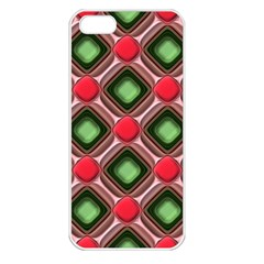 Gem Texture A Completely Seamless Tile Able Background Design Apple Iphone 5 Seamless Case (white)