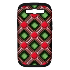 Gem Texture A Completely Seamless Tile Able Background Design Samsung Galaxy S Iii Hardshell Case (pc+silicone)