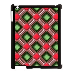 Gem Texture A Completely Seamless Tile Able Background Design Apple iPad 3/4 Case (Black)