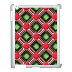 Gem Texture A Completely Seamless Tile Able Background Design Apple Ipad 3/4 Case (white)