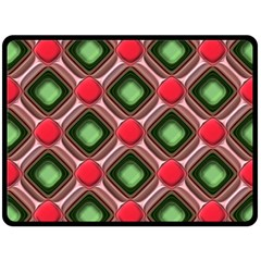 Gem Texture A Completely Seamless Tile Able Background Design Double Sided Fleece Blanket (Large)