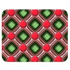 Gem Texture A Completely Seamless Tile Able Background Design Double Sided Flano Blanket (medium)