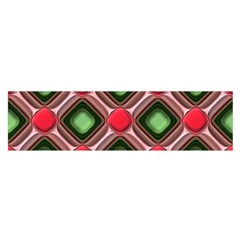 Gem Texture A Completely Seamless Tile Able Background Design Satin Scarf (Oblong)