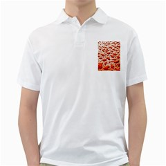 Water Drops Background Golf Shirts
