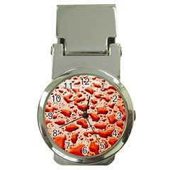Water Drops Background Money Clip Watches