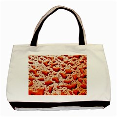 Water Drops Background Basic Tote Bag