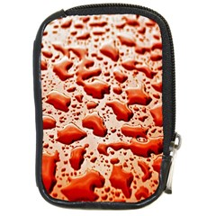 Water Drops Background Compact Camera Cases