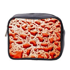 Water Drops Background Mini Toiletries Bag 2 Side